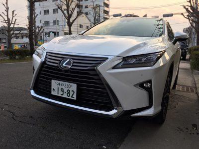 ブルゾン樫原の高級車レンタカー配達日記5~ Lexus RX200t~