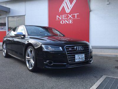 ブルゾン樫原の高級車レンタカー配達日記8〜Audi S8〜