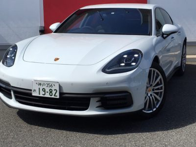 ブルゾン樫原の高級車レンタカー配達日記13~ Panamera Porsche 4S~