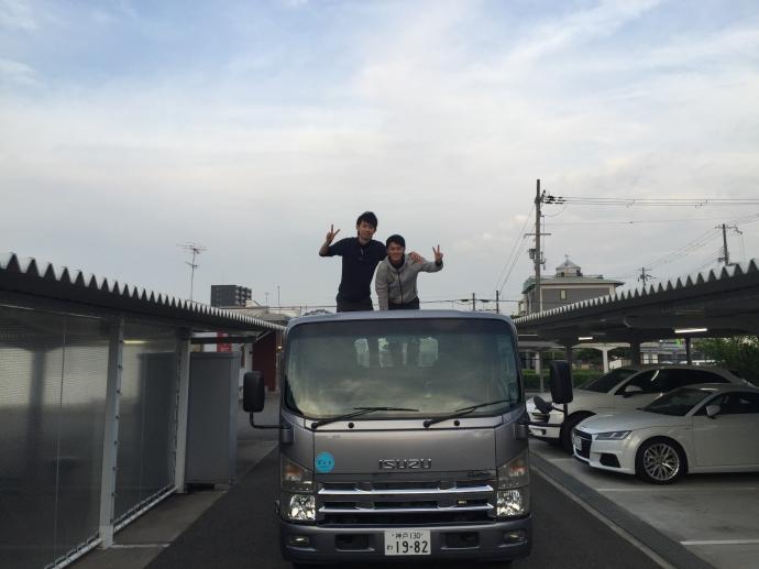 パンサー圓尾の配達日記3〜AMG GT〜