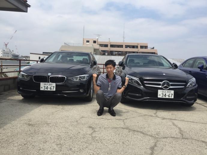 トリプル木村の配達日記6~メルセデスベンツ Cクラス・BMW 3シリーズ~