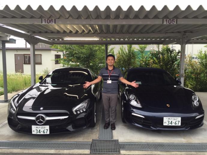 谷畑任三郎の高級車レンタカー配達日記10~メルセデス ベンツAMG GT・ポルシェ ボクスター~