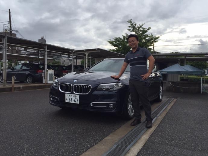 谷畑任三郎の高級車レンタカー配達日記11~BMW 523iT ラグジュアリー~