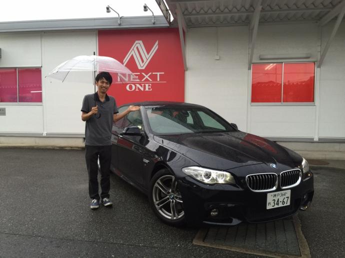パンサー圓尾の高級車レンタカー配達日記11〜BMW 523i〜