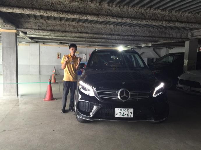 トリプル木村の高級車レンタカー配達日記11~メルセデス ベンツ GLE350d スポーツ~