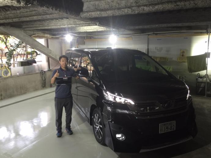 ポッキー高畑の高級車レンタカー配達日記16〜ヴェルファイア〜