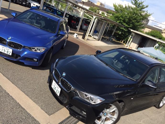 谷畑任三郎の高級車レンタカー配達日記16~BMW 320iツーリング 320dツーリング~