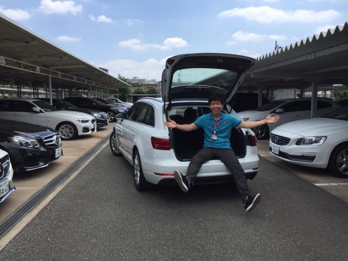 ヘルプ吉村の高級車レンタカー配達日記15~アウディA4アバント~