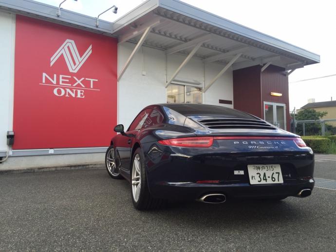 パンサー圓尾の高級車レンタカー配達日記20〜ポルシェ 911 カレラ4〜
