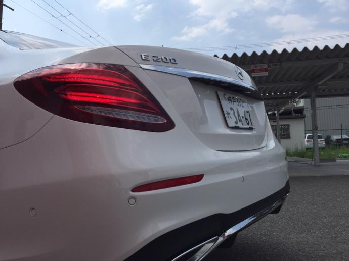 谷畑任三郎の高級車レンタカー配達日記24~メルセデス ベンツ E200 Avantgarde スポーツ~