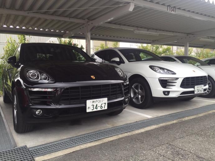 パンサー圓尾の高級車レンタカー配達日記25〜ポルシェ マカン・マカンS〜