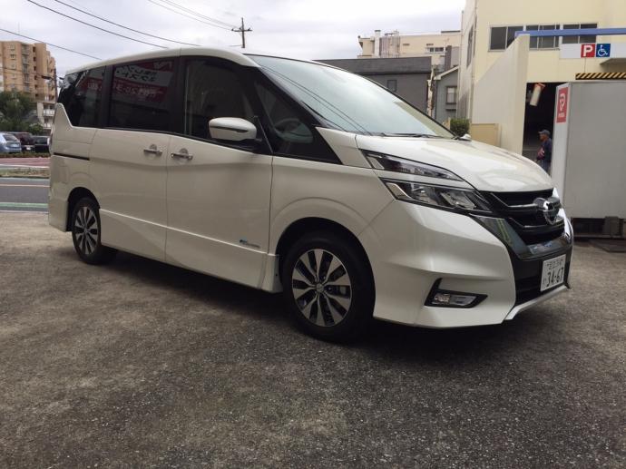 ポッキー高畑の高級車レンタカー配達日記31〜日産 新型セレナ〜