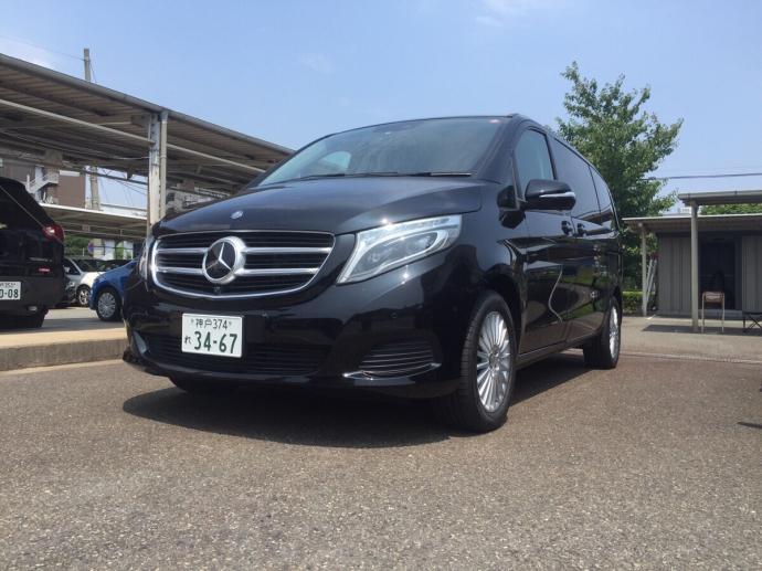 パンサー圓尾の高級車レンタカー配達日記31〜メルセデスベンツ V220d〜