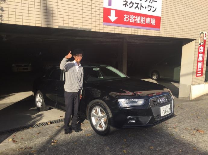 ポッキー高畑の高級車レンタカー配達日記34〜アウディ A4〜
