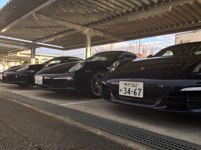 谷畑任三郎の高級車レンタカー配達日記41~ポルシェ 911カレラ4・ボクスター・ケイマン~