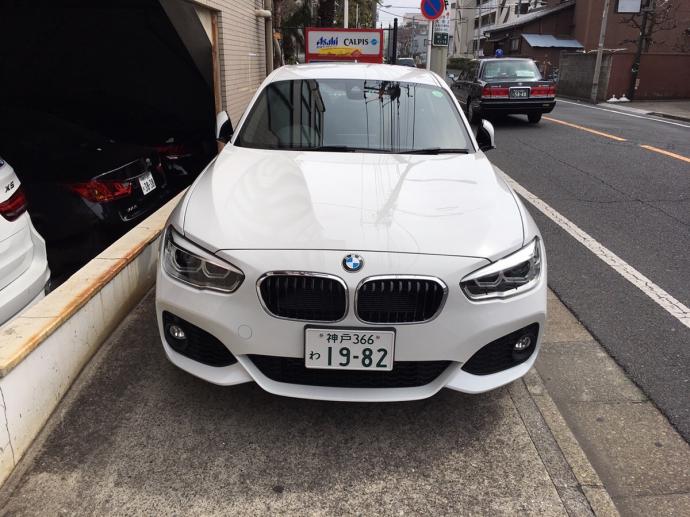 ポッキー高畑の高級車レンタカー配達日記50~BMW 118i~
