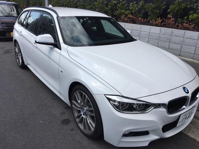 谷畑任三郎の高級車配達日記50~BMW 318iツーリング Mスポーツ~