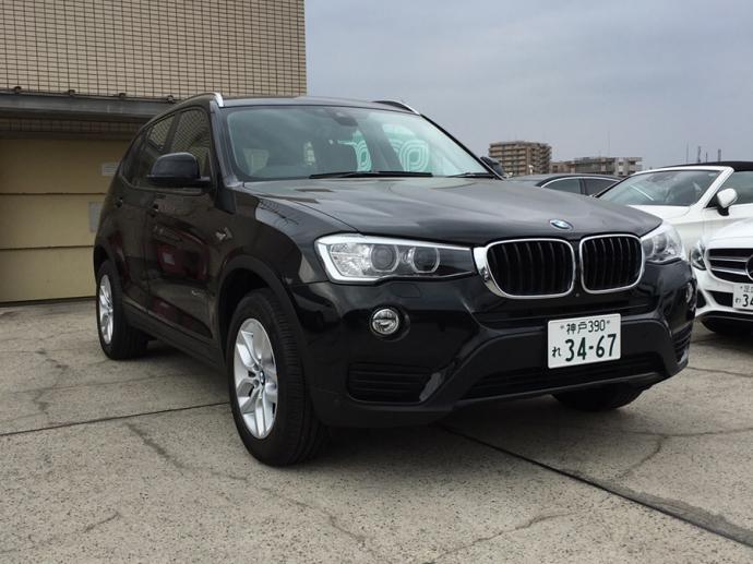 デリ音泉の高級車レンタカー配達日記3~BMW X3~
