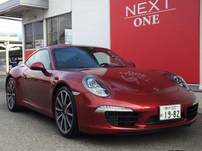 ブルゾン樫原の高級車レンタカー配達日記6~Porsche  911CarreraS~