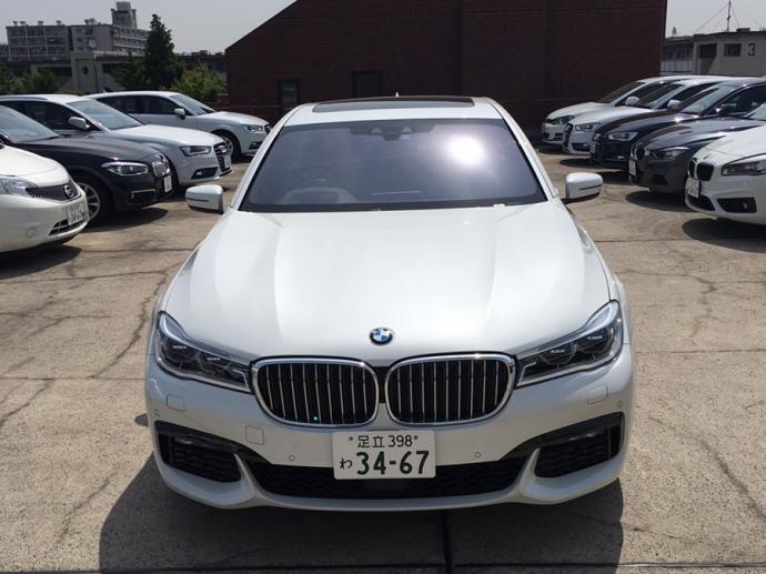 クリス二瓶の高級車レンタカー配達日記8~ BMW 740i (G11)