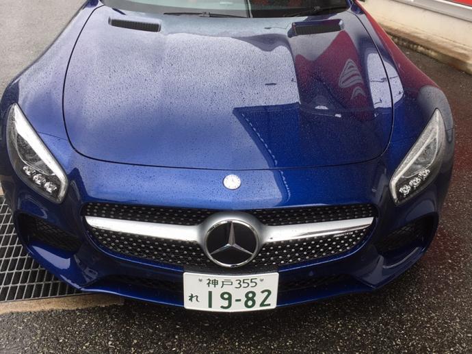 ガッツ由井の高級車レンタカー配達日記02~メルセデス・ベンツ AMG GT(右)~