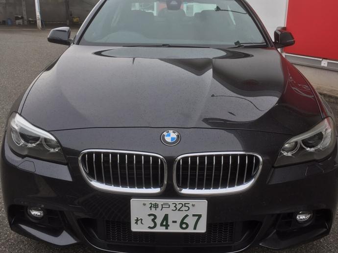 ガッツ由井の高級車レンタカー配達日記03~BMW 523d~