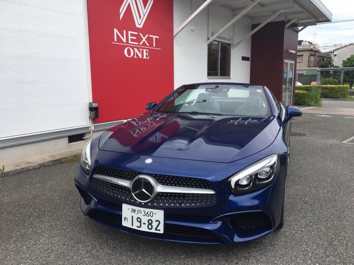 谷畑任三郎の高級車レンタカー配達日記72~メルセデス ベンツ SL400~