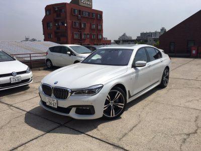 ブルゾン樫原の高級車レンタカー配達日記23~BMW 740i Msport~