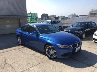 ブルゾン樫原の高級車レンタカー配達日記22~BMW Active Hybrid 3 Msport~