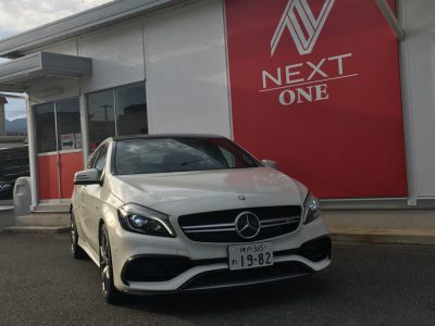 ブルゾン樫原の高級車レンタカー配達日記21~Mercedes-Benz A45 4MATIC Advance package ~
