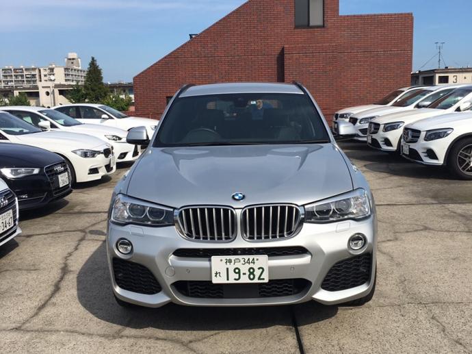 クリス二瓶の高級車レンタカー配達日記21~ BMW X3 x-Drive28i Mスポーツ