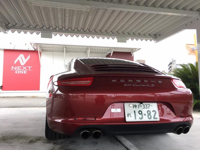パンサー圓尾の高級車レンタカー配達日記65〜ポルシェ 911カレラS〜