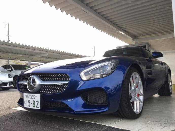パンサー圓尾の高級車レンタカー配達日記66〜メルセデスベンツ AMG-GT〜