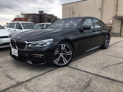 ポッキー高畑の高級車レンタカー配達日記77~BMW 740e~