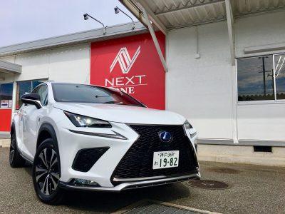 パンサー圓尾の高級車レンタカー配達日記71〜レクサス NX300h〜