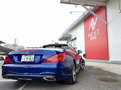 パンサー圓尾の高級車レンタカー配達日記72〜メルセデスベンツ SL400〜