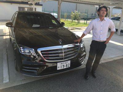 谷畑任三郎の高級車レンタカー配達日記78~メルセデス ベンツS400 AMGライン~
