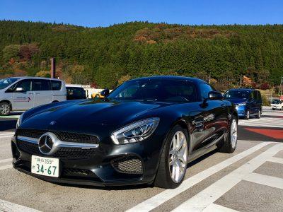 ブルゾン樫原の高級車レンタカー配達日記29~ Mercedes-Benz AMG GT~