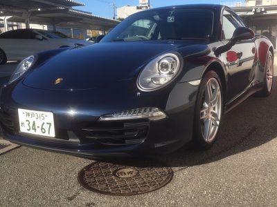 ガッツ由井の高級車レンタカー配達日記22「ポルシェ 911カレラ4」