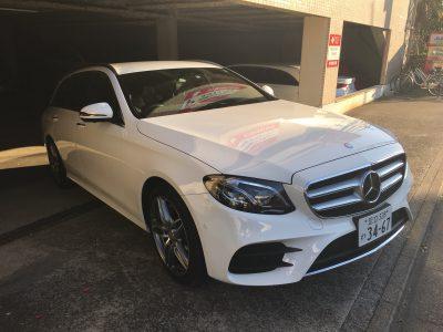 ブルゾン樫原の高級車レンタカー配達日記28 ~Mercedes-BenzE200W Avantgarde sport~