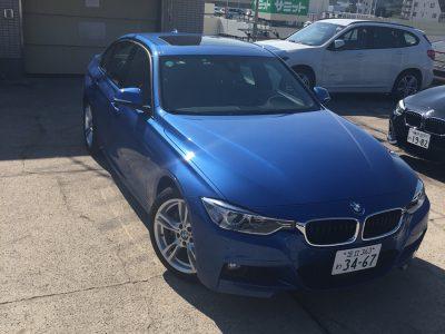 ポッキー高畑の高級車レンタカー配達日記79~BMW AHV3~