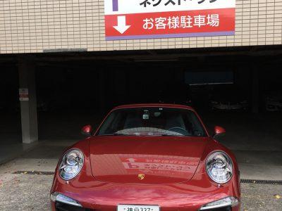 デリ音泉の高級車レンタカー配達日記31~ ポルシェ 911 カレラS