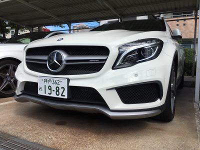 谷畑任三郎の高級車レンタカー配達日記79~メルセデス ベンツGLA45 AMG 4MATIC~
