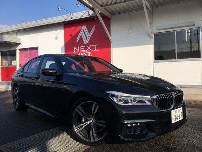 谷畑任三郎の高級車レンタカー配達日記83~BMW 740i Mスポーツ~