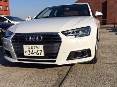 ガッツ由井の高級車レンタカー配達日記25~Audi A4~