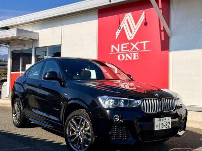 ブルゾン樫原の高級車レンタカー配達日記32~ BMW X4 ~