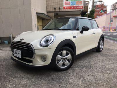 ブルゾン樫原の高級車レンタカー配達日記36~MINI クーパーD 3ドア~