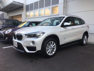ポッキー高畑の高級車レンタカー配達日記85~BMW X1~