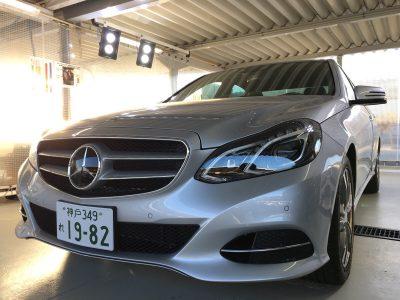 パンサー圓尾の高級車レンタカー配達日記79〜メルセデスベンツ E300〜