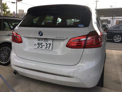パンサー圓尾の高級車レンタカー配達日記81〜BMW 225xe〜